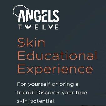 Skin educational experience at Angels Twelve