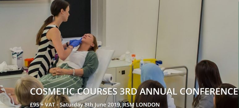 Joint Dr.Olha at Cosmetic Courses annual conference on the 8th of June 2019 at the Royal Society of Medicine , London.